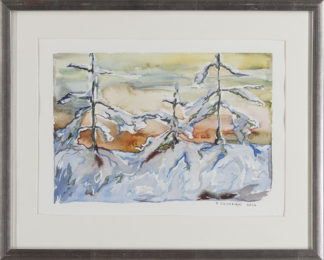 Petri Silvonen | Eräs talvipäivän ilta