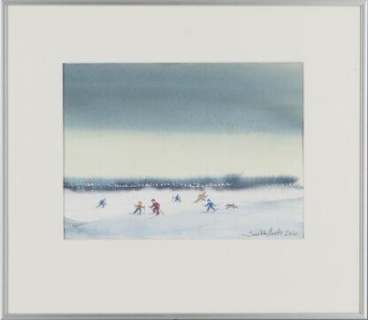 Sinikka Murto | Vesijärven jäällä helmikuussa 2021